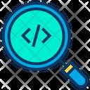 Search Coding Programming Icon