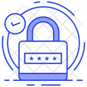 Code Security Pin Code Protection Icon