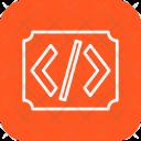 Code Text Ratio Icon