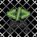Coder Developer Programmer Icon