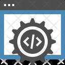 Coding Optimization Cogwheel Icon