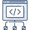 Coding Coding Connection Connection Icon