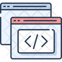 Coding Web Coding Web Development Icon