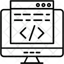 Coding Development Html Icon