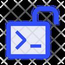 Coding Code Unlock Icon