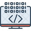 Coding Application Programming Icon