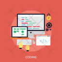 Coding Setting Flowchart Icon