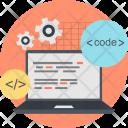 Coding Computer Creative Icon