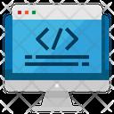 Coding Algorithm Computer Icon