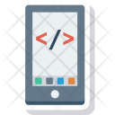 Coding Html Mobile Icon