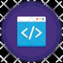 Coding Programming Code Icon