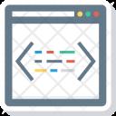 Coding Design Html Icon