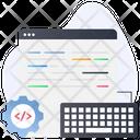 Code Optimization Development Code Coding Icon