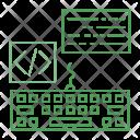 Keyboard Coding Scripting Icon