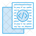 Coding Scripting Document Icon