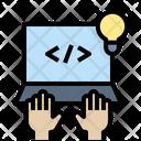 Coding Developer Programmer Icon