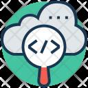 Coding Html Cloud Icon