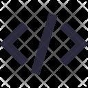 Html Div Coding Icon