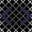 Brackets Coding Math Icon