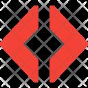 Bracket Arrow Coding Icon