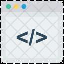 Coding Programming Scripting Icon