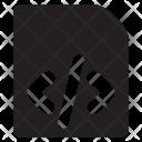 Html Doc Coding Icon