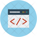 Language Programming Webpage Icon