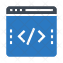 Webpage Coding Scripting Icon
