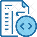 Coding Code Development Icon