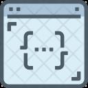 Coding Webpage Programming Icon