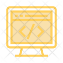 Coding Webpage Internet Icon