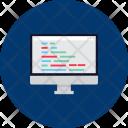 Coding Computer Icon