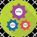 Coding Cogs Html Icon