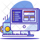 Coding Development Plan Icon