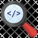 Coding Exploration Digital Coding Search Coding Icon