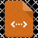 Code File Paper Icon