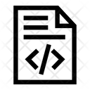 Coding File Programming Icon