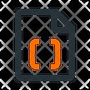 File Code D Icon