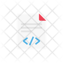 Coding File Programming Icon