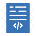 Coding File Coding Development Icon