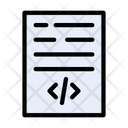 Coding Development Hacking Icon