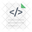 Coding File Document Icon