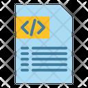 Coding File Coding Programming Icon