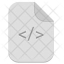 Code Programming Document Icon