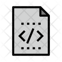 Coding Files Document Icon
