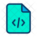 Coding File Development File Programming File Icon