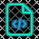 Coding File Development File Programming File Icon
