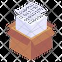 Binary Coding Coding Files Coding Documents Icon
