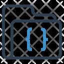 Coding Folder Data Icon