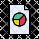 File Records Graph Icon